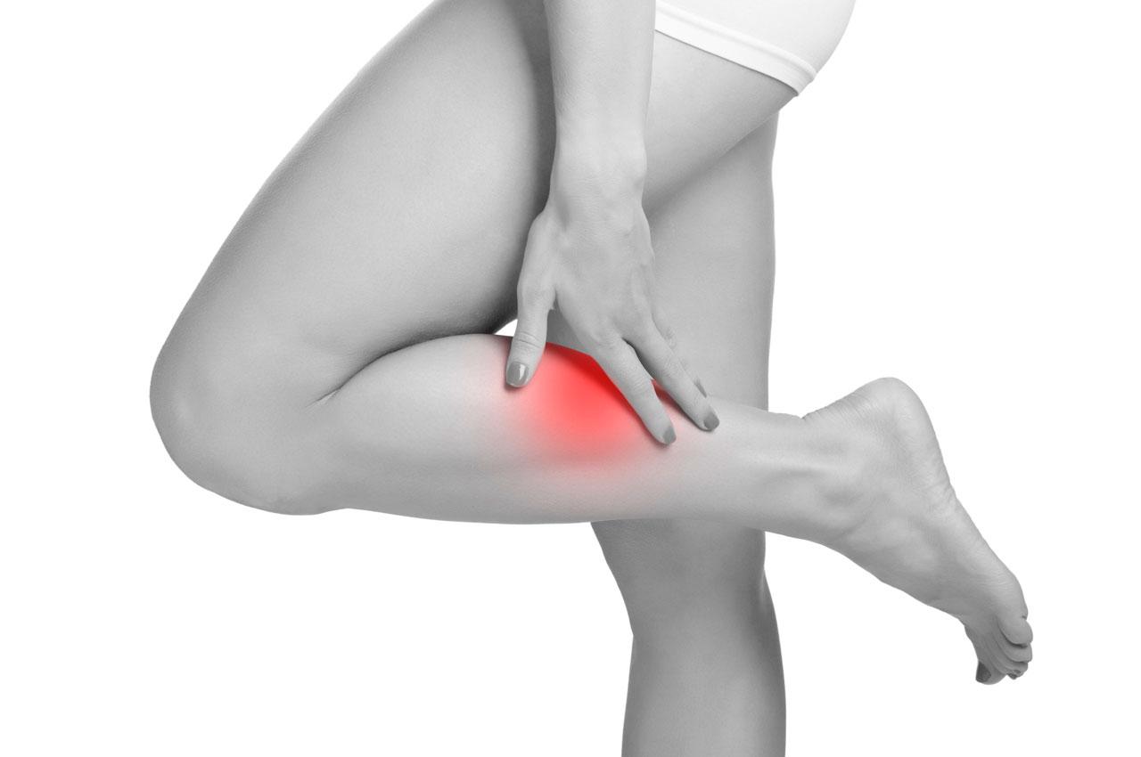 Los en la pierna espasmos como musculares detener