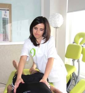 Doctora en Fisioterapia Susana Jiménez de Miguel