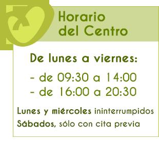 Horario Centro Fisioterapia Hispanidad en Fuengirola