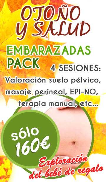 Pack de fisioterapia para embarazadas en Fuengirola