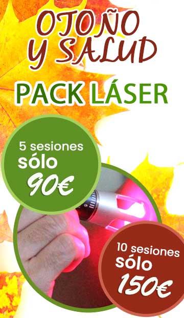 Pack de terapias con láser en Fuengirola