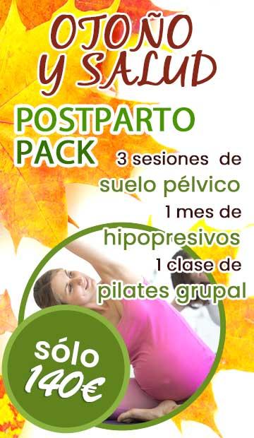 Pack postparto y fisioterapia en Fuengirola