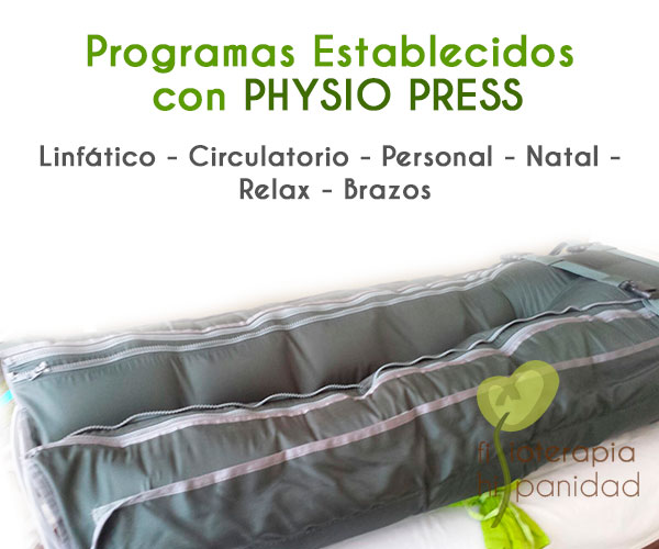 Presoterapia con Phisio Press en Fuengirola